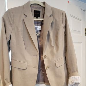 The Limited, Tan Suit Jacket, worn once